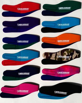 0015784 Aqua Earband Various Sizes Colours
